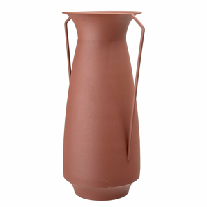 Oranžovo-hnedá kovová váza Bloomingville Jug