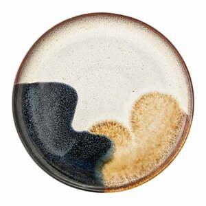 Servírovací tanier z kameniny Bloomingville Jules, ø 28,5 cm