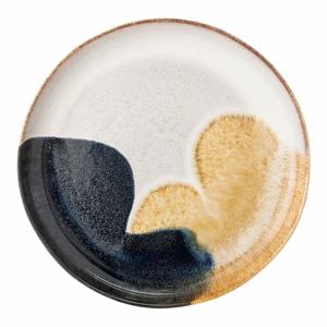 Servírovací tanier z kameniny Bloomingville Jules, ø 35 cm