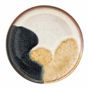 Dezertný tanier z kameniny Bloomingville Jules, ø 22 cm