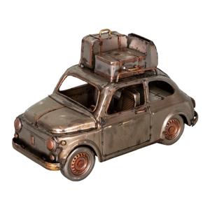 Železná dekorácia v tvare auta Antic Line Voiture, 23,5 x 11,5 cm