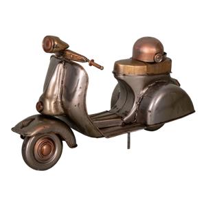 Železná dekorácia v tvare Vespy Antic Line Moto, 23 x 9,5 cm