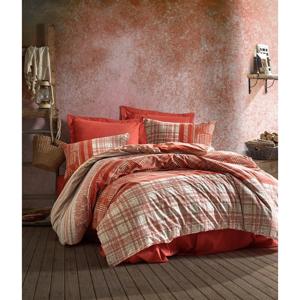 Bavlnené obliečky s plachtou Cotton Box Dust, 200 x 220 cm