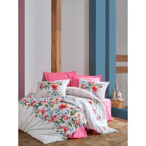 Bavlnené obliečky s plachtou Cotton Box Pamela, 200 x 220 cm