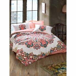 Bavlnené obliečky s plachtou Cotton Box Harsa, 200 x 220 cm
