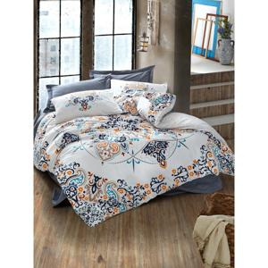 Bavlnené obliečky s plachtou Cotton Box Rasan, 200 x 220 cm