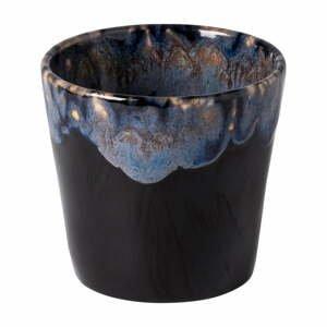 Modro-čierna kameninová šálka na espresso Costa Nova, 200 ml