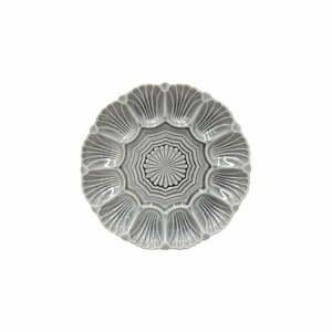 Sivý kameninový tanier Costa Nova Cristal, ⌀ 25 cm