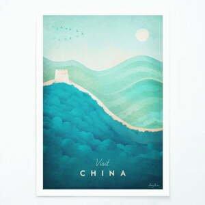 Plagát Travelposter China, A3