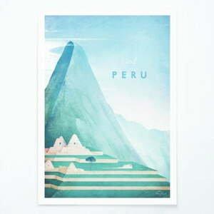 Plagát Travelposter Peru, A3
