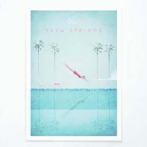 Plagát Travelposter Palm Springs, A2