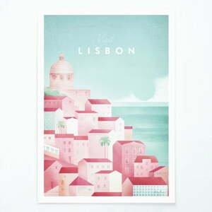 Plagát Travelposter Lisbon, A2