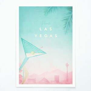 Plagát Travelposter Las Vegas, A3