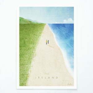 Plagát Travelposter Ireland, A3