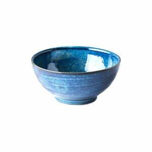 Modrá keramická miska Mij Indigo, ø 18 cm