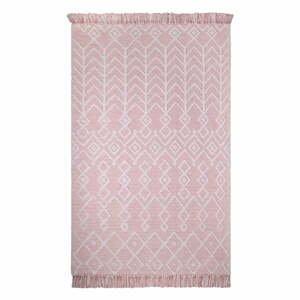 Ružový bavlnený koberec Nattiot Marcel Pink, 120 x 160 cm