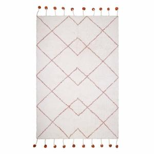 Bavlnený ručne vyrobený koberec Nattiot Natural, 110 x 170 cm