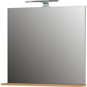 Nástenné zrkadlo Germania Mauresa Natural, 76 x 75 cm