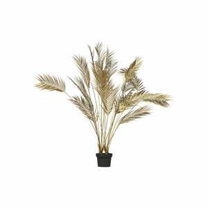 Umelá palma v zlatej farbe WOOOD, výška 110 cm