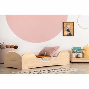 Detská posteľ z borovicového dreva Adeko Pepe Adel, 90 x 140 cm