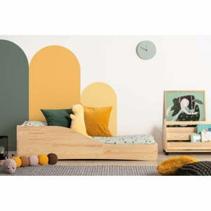 Detská posteľ z borovicového dreva Adeko Pepe Colm, 70 x 140 cm