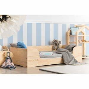 Detská posteľ z borovicového dreva Adeko Pepe Dan, 80 x 200 cm