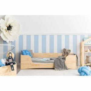 Detská posteľ z borovicového dreva Adeko Pepe Dan, 100 x 180 cm