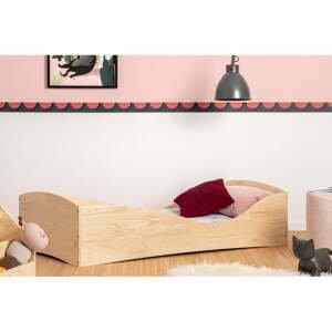 Detská posteľ z borovicového dreva Adeko Pepe Elk, 90 x 140 cm
