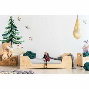 Detská posteľ z borovicového dreva Adeko Pepe Frida, 60 x 120 cm
