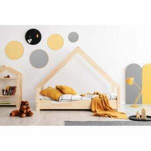 Domčeková detská posteľ z borovicového dreva Adeko Loca Ana, 90 x 160 cm