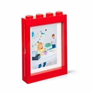Červený rámček na fotku LEGO®, 19,3 x 4,7 cm