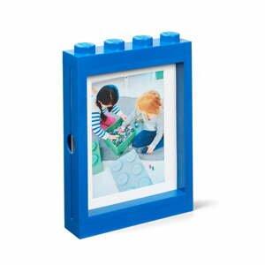 Modrý rámček na fotku LEGO®, 19,3 x 4,7 cm