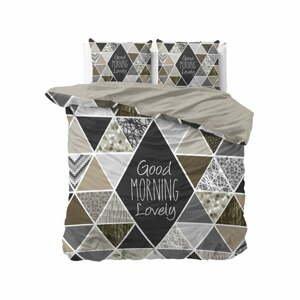 Bavlnené obliečky na dvojlôžko Pure Cotton Crazy Morning, 200 x 200/220 cm