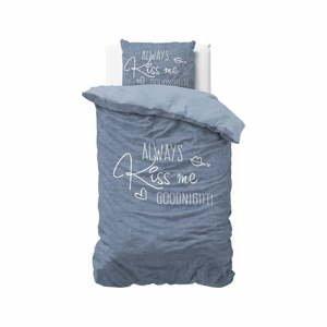 Bavlnené obliečky na jednolôžko Pure Cotton Always Kiss Me, 140 x 200/220 cm