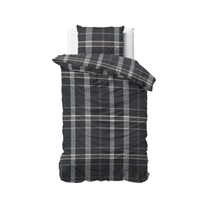 Flanelové obliečky na jednolôžko Dreamhouse Bruce, 140 x 220 cm
