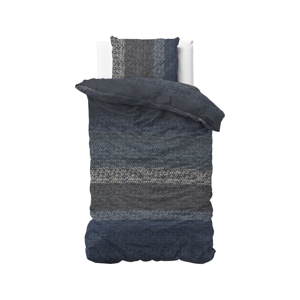 Flanelové obliečky na jednolôžko Dreamhouse Gradient Knits, 140 x 220 cm