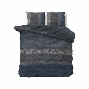 Flanelové obliečky na dvojlôžko Dreamhouse Gradients Knits, 200 x 220 cm