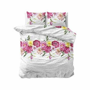 Flanelové obliečky na dvojlôžko Sleeptime Love Garden, 200 x 220 cm