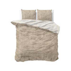 Flanelové obliečky na dvojlôžko Sleeptime Washed Cotton, 220x240cm