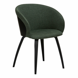 Zeleno-čierna stolička DAN-FORM Denmark Imo