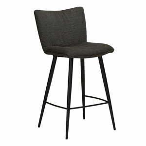 Čierna barová stolička DAN-FORM Denmark Join, výška 93 cm