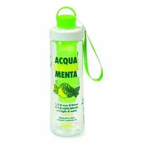 Zelená fľaša na vodu s infuzérom Snips Mint, 750 ml