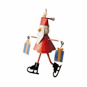 Vianočná závesná ozdoba G-Bork Santa with Gifts