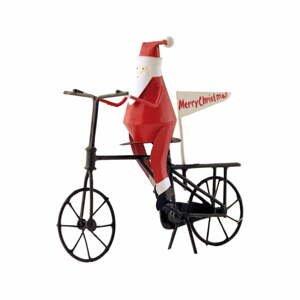 Vianočná dekorácia G-Bork Santa on Bike