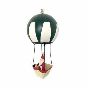 Vianočná závesná ozdoba G-Bork Santa in Balloon