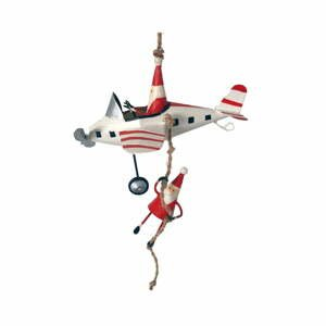 Vianočná závesná ozdoba G-Bork Santas on Fly