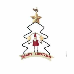 Vianočná dekorácia G-Bork Santa in Christmastree