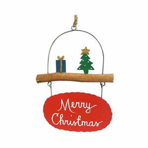 Vianočná závesná ozdoba G-Bork Merry Christmas