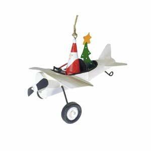 Vianočná závesná ozdoba G-Bork Airplane