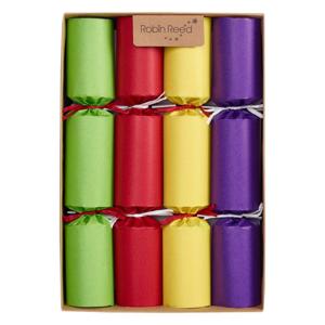 Sada 8 vianočných crackerov Robin Reed Kraft Chimes